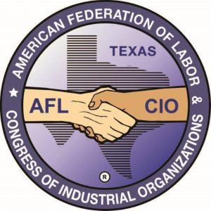 Texas AFL CIO endorsement