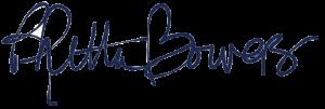 Rhetta Bowers Signature